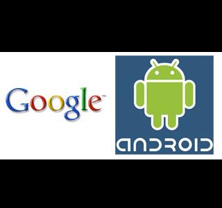 Google y Android logos