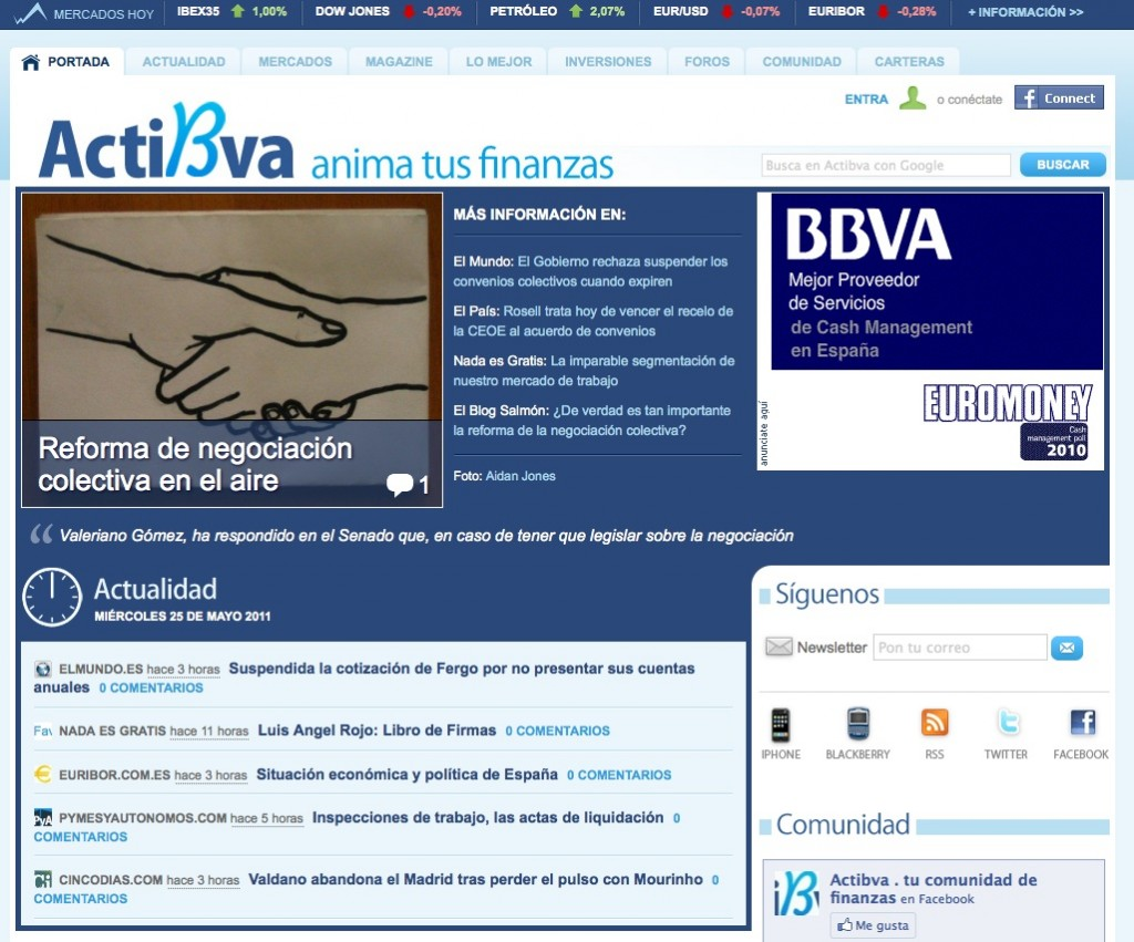 Actibva blog del BBVA