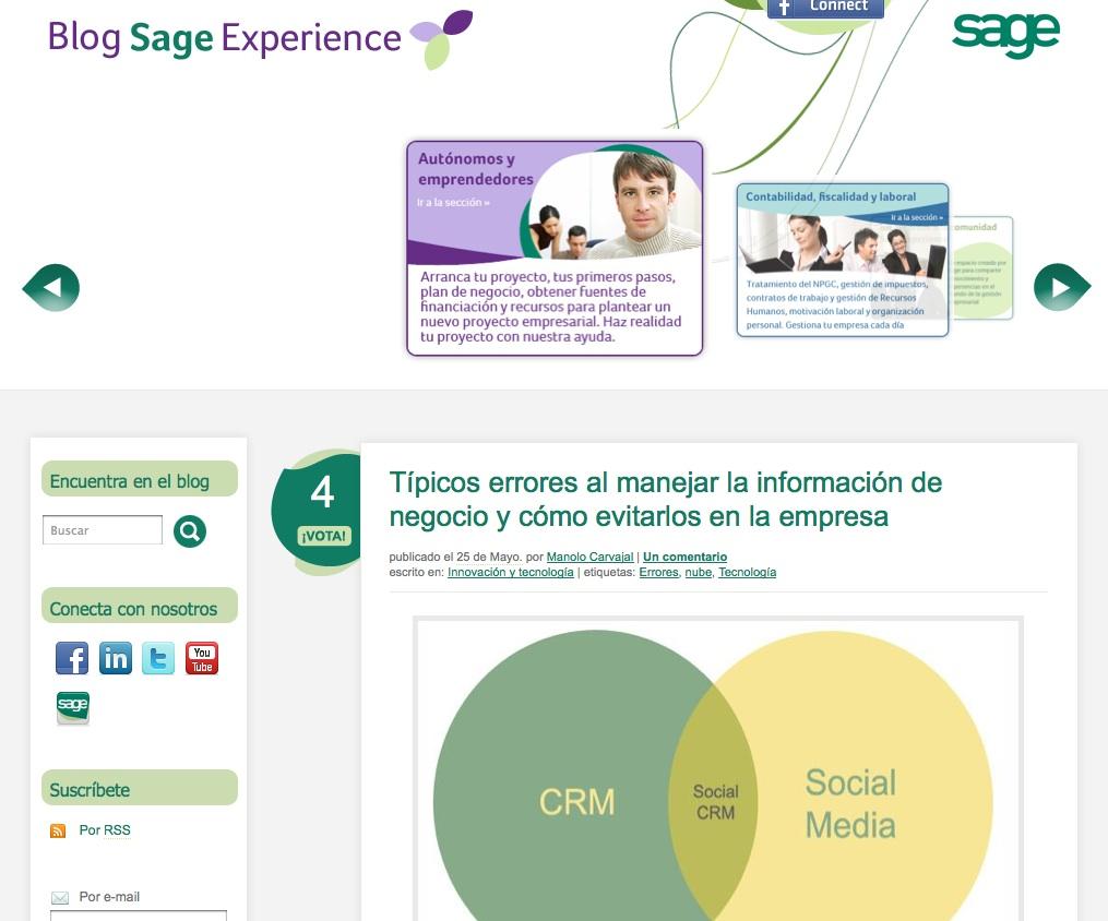 SAGE blog