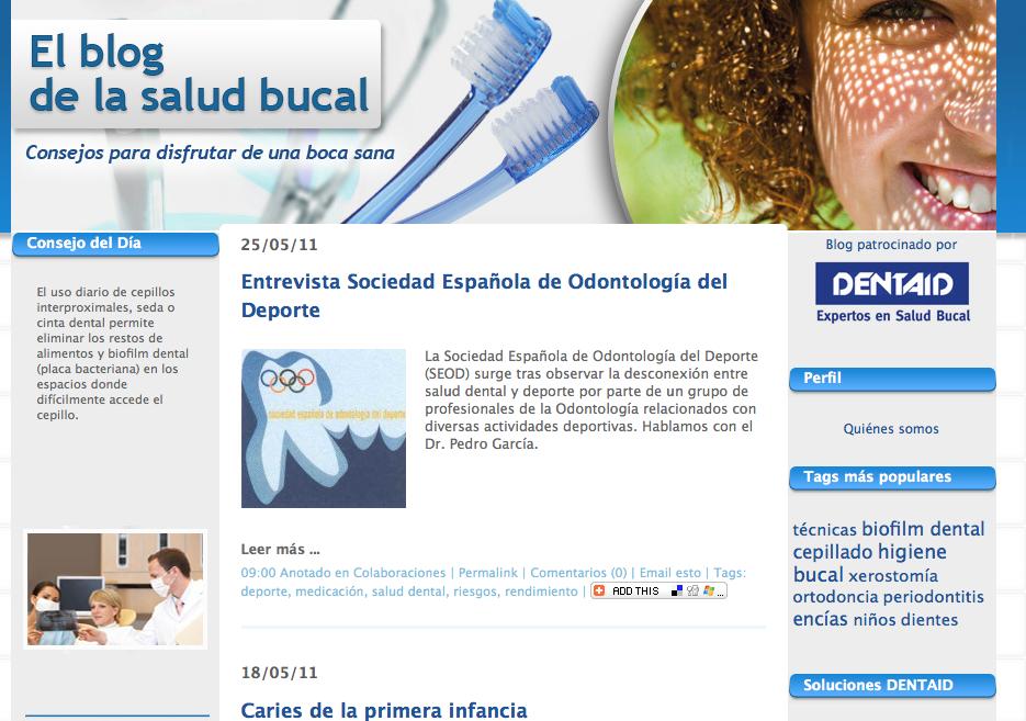 El blog de la salud bucal