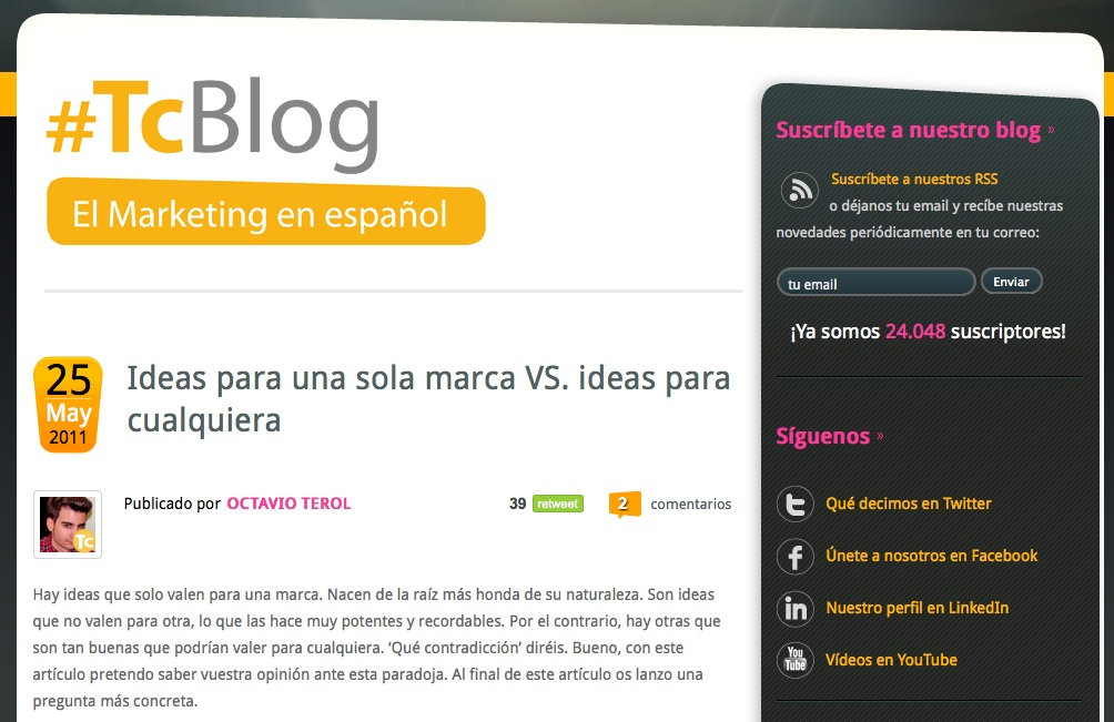 Territorio Creativo blog