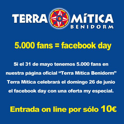 Terra Mítica Facebook Day