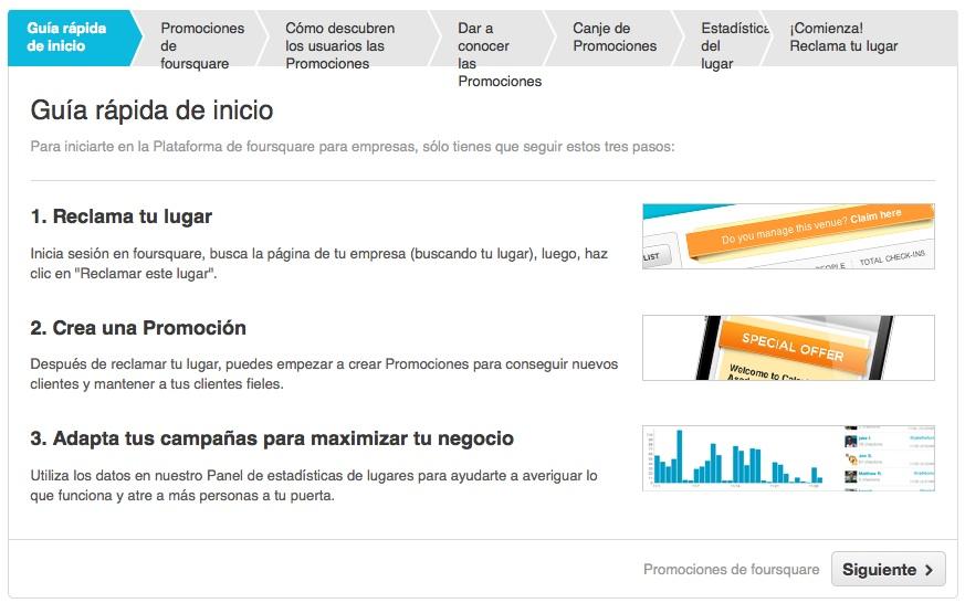 Foursquare Empresas